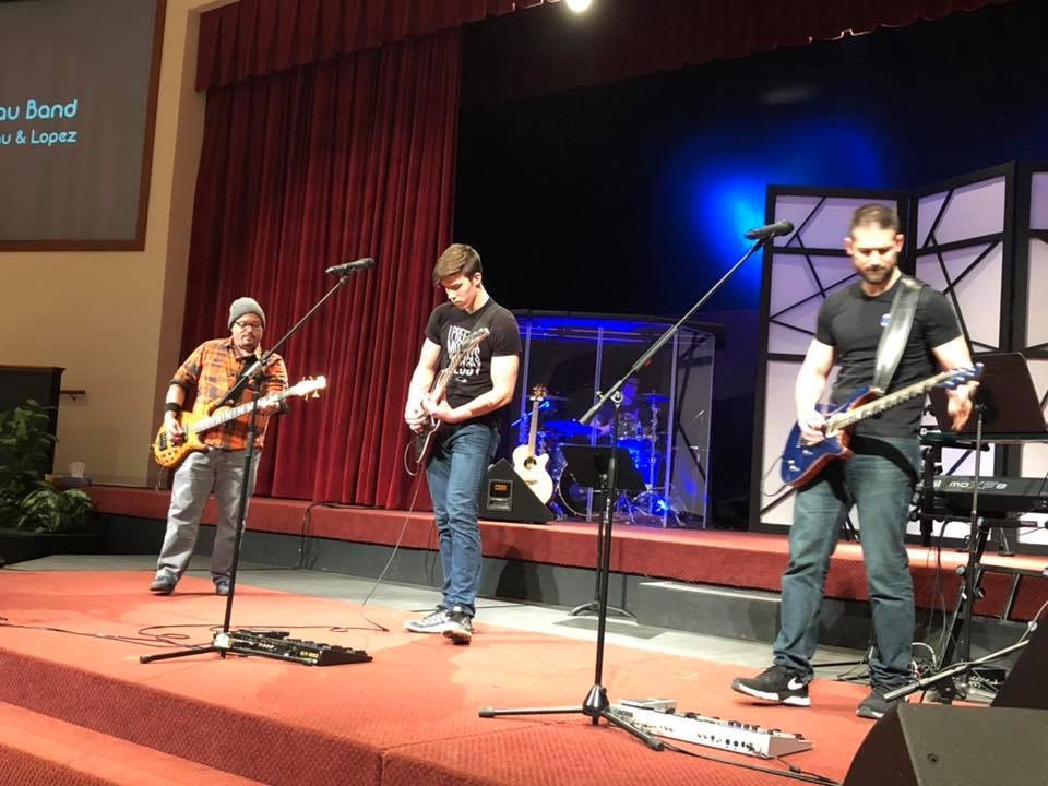 My family performing at our church talent show